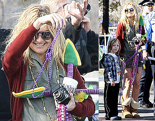 Photos of Kate Hudson and Ryder in New Orleans Before the Super Bowl