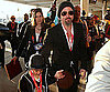 Slide Photo of Brad Pitt and Maddox Jolie-Pitt at Super Bowl