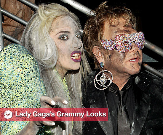 The Grammy Faces of Gaga