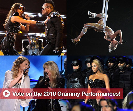 Vote on the 2010 Grammy Performances!