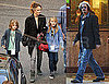 Photos of Johnny Depp on Set With Keith Richards And Patti Smith; Vanessa Paradis Visiting With Lily-Rose Depp And Jack Depp