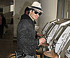 Slide Photo of Ian Somerhalder Catching Flight in NYC
