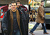 Photos of Matt Damon And Clint Eastwood Filming Hereafter in London 2010-02-01 14:00:40