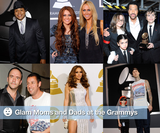 Glam Moms and Dads at the Grammys
