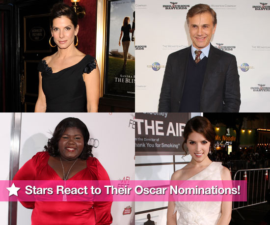 Slideshow of Photos of 2010 Oscar Nominees and Oscar Nomination Reactions 2010-02-02 15:30:20