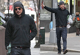 Photos of Josh Hartnett Wearing Sunglasses and Walking in NYC