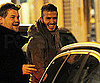Slide Photo of David Beckham Out in Milan