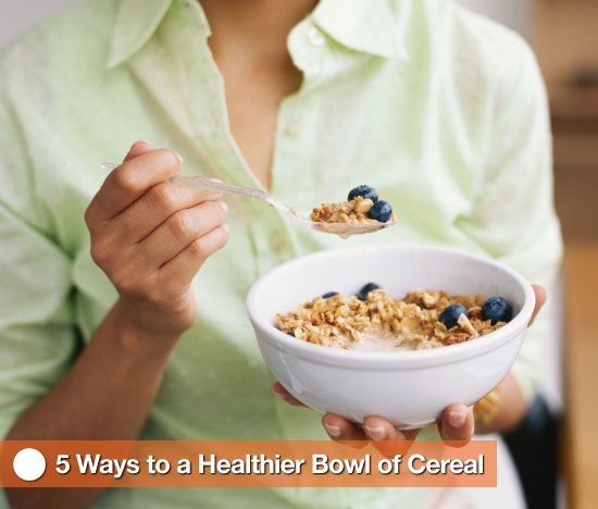 How to Make Your Cereal Healthier