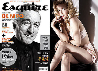 Photos of Tallulah Riley In Lingerie Underwear Semi-Naked in Esquire March 2010 Issue
