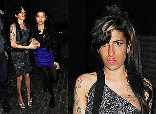 Photos of Amy Winehouse at Dionne Bromfield's 14th Birthday Party in London