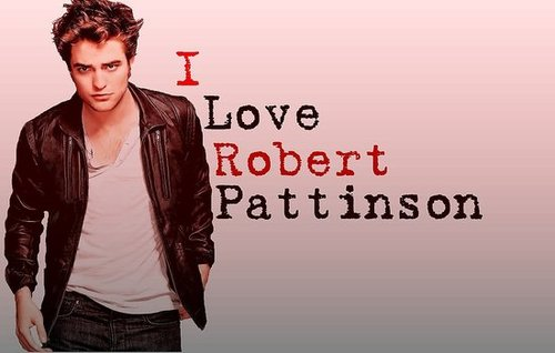 Robert Pattinson Wallpaper I Made ;)
