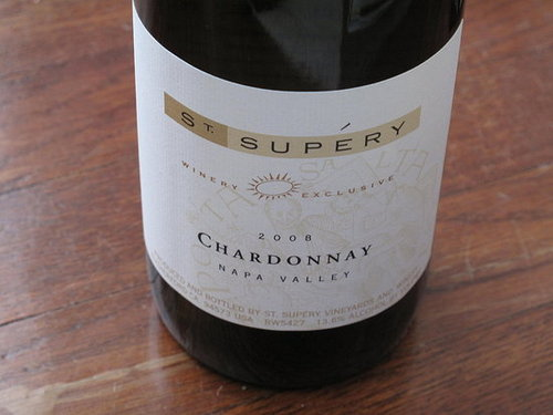 Happy Hour: 2008 St. Supry Barrel Fermented Chardonnay