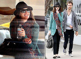 Photos of Anne Hathaway and Adam Shulman Shopping in LA