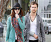 Slide Photo of Anne Hathaway and Adam Shulman in LA
