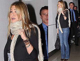 Photos of Jennifer Aniston Leaving a Business Meeting in LA