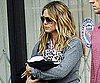 Slide Photo of Heidi Klum Holding Baby Lou in LA