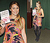 Lauren Conrad Wears Tropical Print Nanette Lepore Dress During the NYC Signing of Her Book