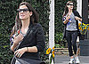 Photos of 2010 Oscar Nominee Sandra Bullock Getting Flowers in LA