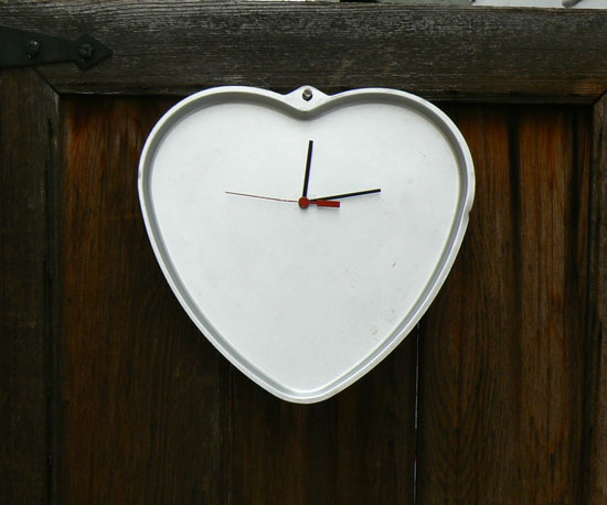 Heart Time Clock ($28)