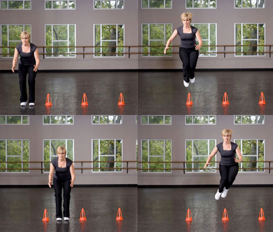 Lateral Cone Jumps