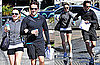 Photos of Anna Paquin and Stephen Moyer Exercising Together in LA