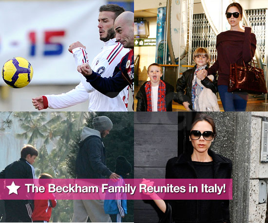 Slideshow of Photos of Victoria and David Beckham with Brooklyn, Romeo and Cruz in Italy