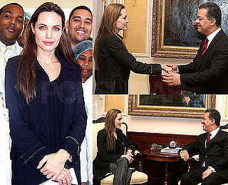Photos of Angelina Jolie in Dominican Republic on Behalf of Haiti Relief