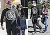 Photos of Nicole Richie Shopping For Wedding Dresses at Monique Lhullier With Benji Madden