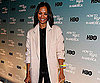 Slide Photo of Zoe Saldana at How To Make It In America Premiere in NYC
