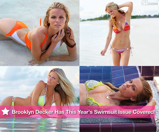 Brooklyn Decker Has This Year's Swimsuit Issue Covered!