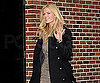 Slide Photo of Brooklyn Decker at Late Show in NYC