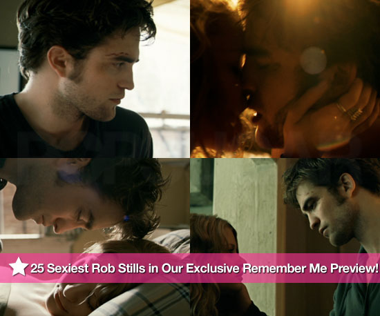 25 Sexiest Robert Pattinson Shots in Our Exclusive Remember Me Preview!