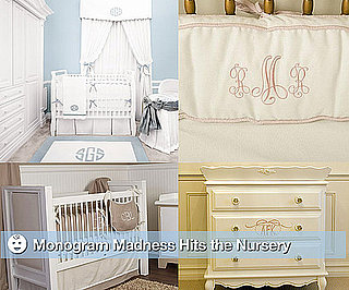 Monogrammed Nursery Decor