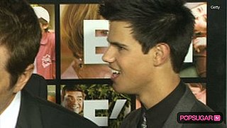 Video of Taylor Lautner at the Valentine's Day Movie Premiere