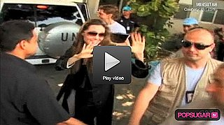 Video of Angelina Jolie Visiting Kids in Haiti