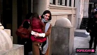 Video of Katie Holmes and Suri Cruise in New York