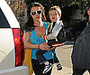 Slide Photo of Britney Spears and Jayden in LA