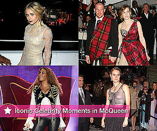 Iconic Celebrity Moments in McQueen