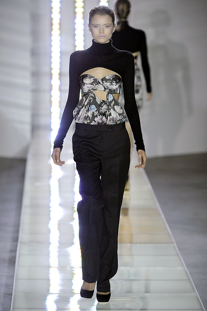 Preen Fall 2010: All About the Bustier Bandeau