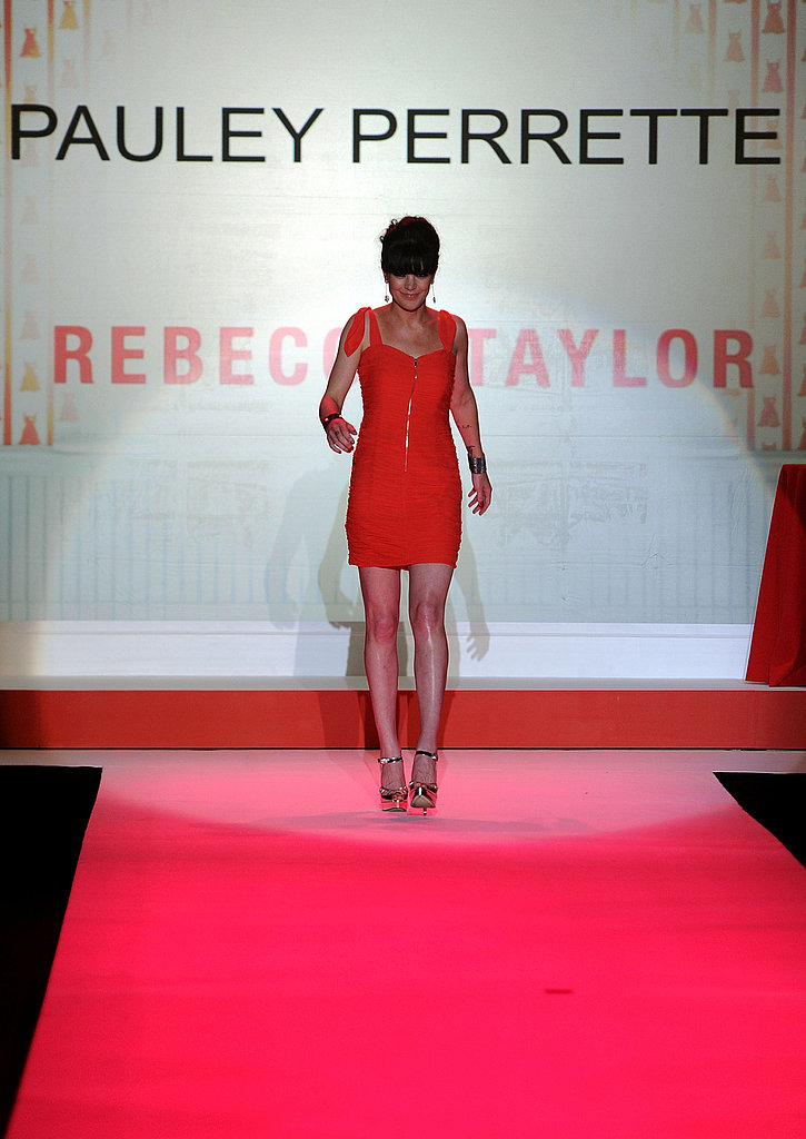 New York Fashion Week: Red Dress Heart Truth Fall 2010