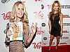 Photos of Bar Refaeli and Brooklyn Decker Celebrating the Sports Illustrated Swimsuit Cover in Las Vegas