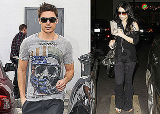 Photos of Zac Efron and Vanessa Hudgens Shopping in LA