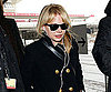 Slide Photo of Michelle Williams at Berlin Airport