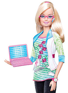 Computer Engineer Barbie Debuts at NYC Toy Fair