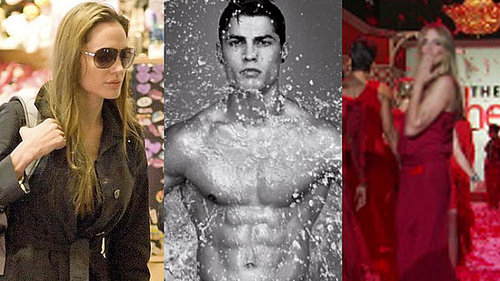 Angelina Jolie and Adoption in Haiti, Cristiano Ronaldo Shirtless Photos and Video, and Kim Kardashian at Fashion Week