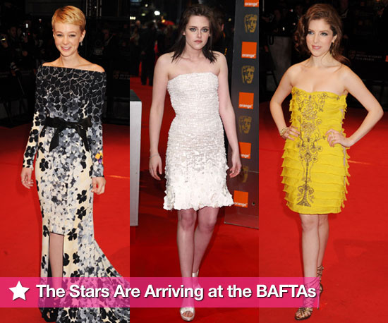 The Stars Are Arriving at the BAFTAs!