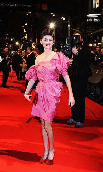 Audrey Tautou(2010 Bafta Awards)