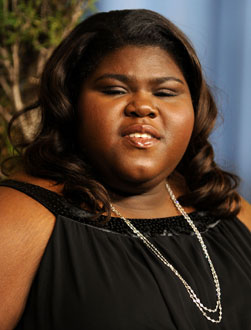Press Room Interview With Precious Star Gabourey Sidibe at the 2010 Oscar Nominees Luncheon
