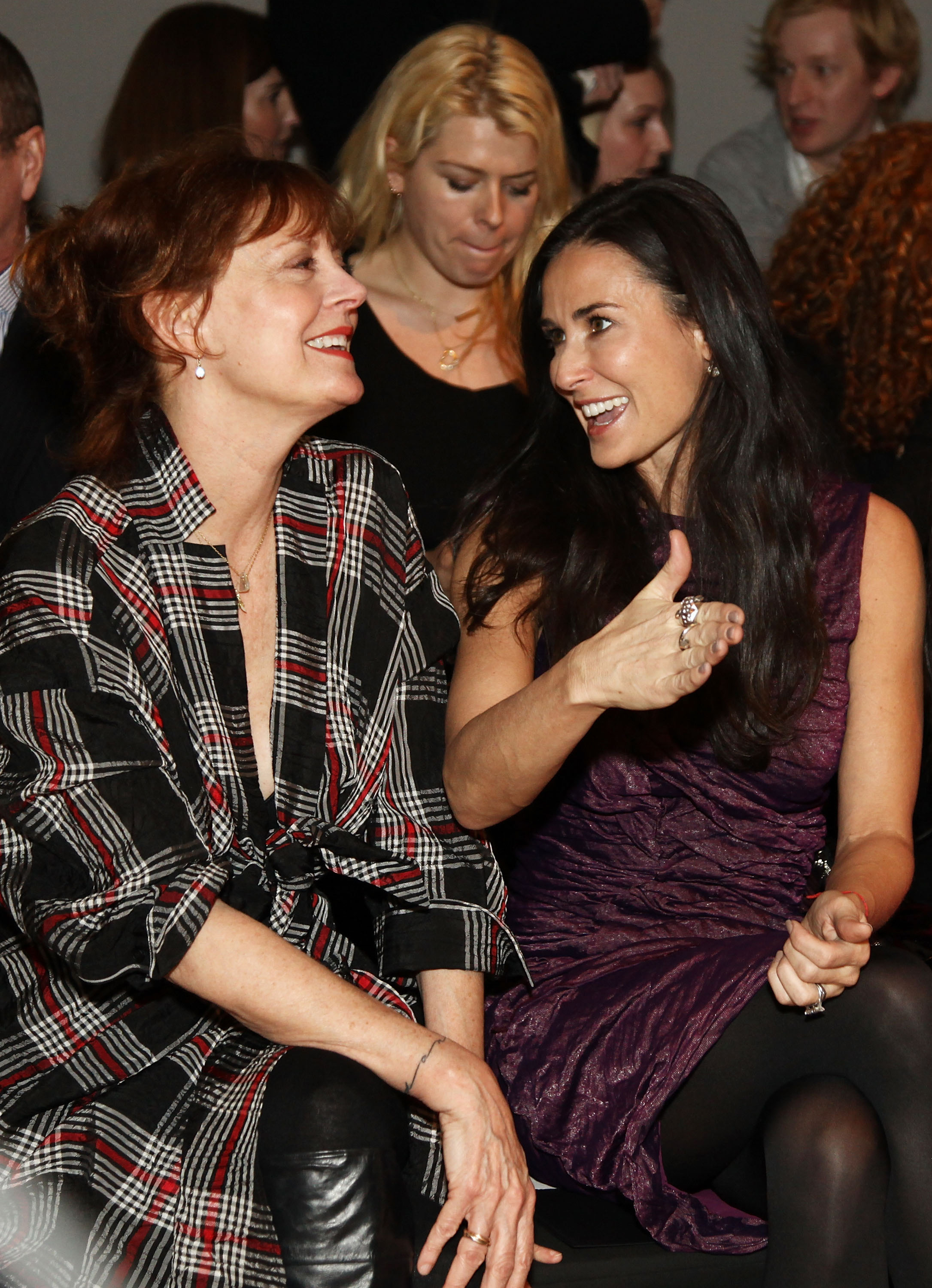 Susan Sarandon and Demi Moore