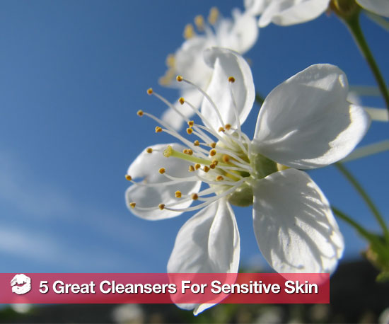 5 Great Cleansers to Soothe Your Sensitive Skin